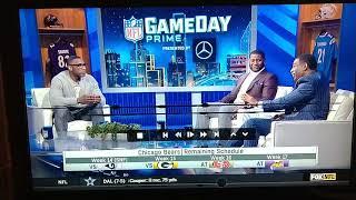 Deion Sanders almost slips the N-Word on NFL Gameday Prime