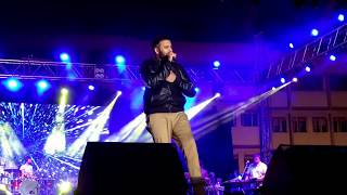 Barish song by Ash King in Live concert in Vasai