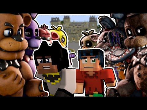 Minecraft Hello Neighbor: GIGA FNAF WORLD - GIANT EGGS!