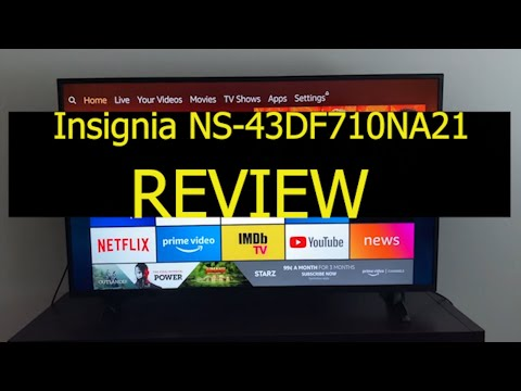 Insignia NS-43DF710NA21 43-inch Smart 4K UHD - Fire TV Edition Review 2020