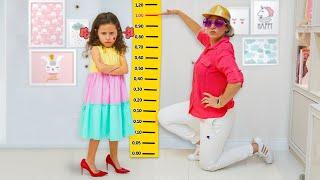 Valentina quer ser mais alta e ir para a baladinha ♥ She wants to be taller & go to the disco