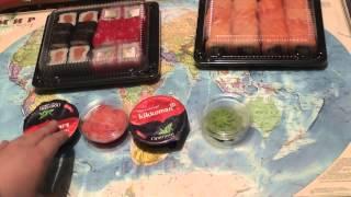 Доставка суши Оригами Красноярск(Привет всем, мои дорогие! Здесь показываю, как выглядят роллы Филадельфия кани, Филадельфия с угрем, Джамейк..., 2015-03-10T12:19:44.000Z)
