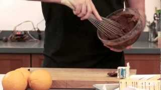 How To Bake Brownies In An Orange - Chow Tip