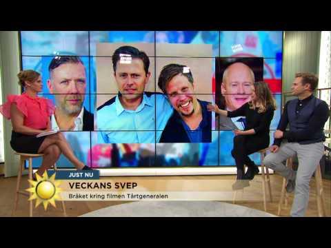 Bråket kring Filip och Fredriks film - Nyhetsmorgon (TV4)