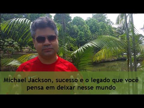Michael Jackson, sucesso e o legado que você pensa em deixar nesse mundo