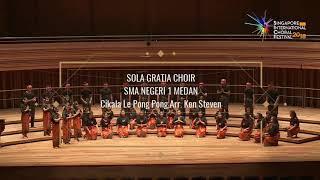Cikala Le Pong Pong Ken Steven P S Sola Gratia SMA Negeri 1 Medan