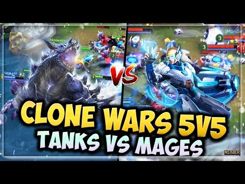 HEROES EVOLVED - CHAOTIC STRIFE   CLONE WARS 5V5 GAMEPLAY   ROCKMAN VS ESTEIN   WHO WILL WIN??