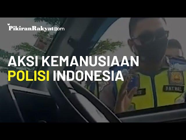 Polisi Tidak Jadi Menilang Pengemudi karena Membawa Orang Sakit
