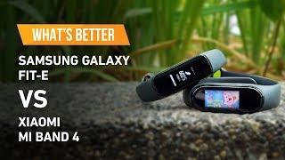 Samsung Galaxy Fit-e vs Xiaomi Mi Band 4 [What's Better? S02 Ep.1]