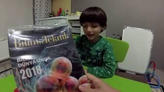 Meraklı Minik 2019 Ocak Sayısını İnceledik - Eğlenceli Çocuk Videoları
