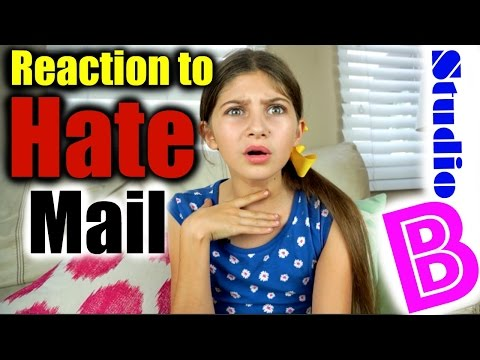 My Reaction to HATE Mail !