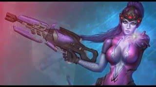Роковая вдова из Overwatch