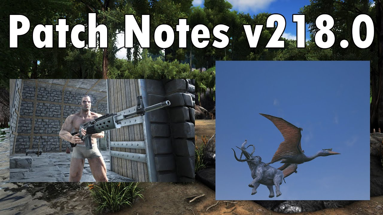 Ark survival evolved patch notes - Ark Survival Evolved Patch Notes 38