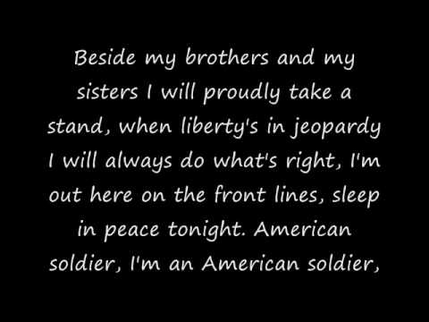 To Keiths American Soldier with Lyrics