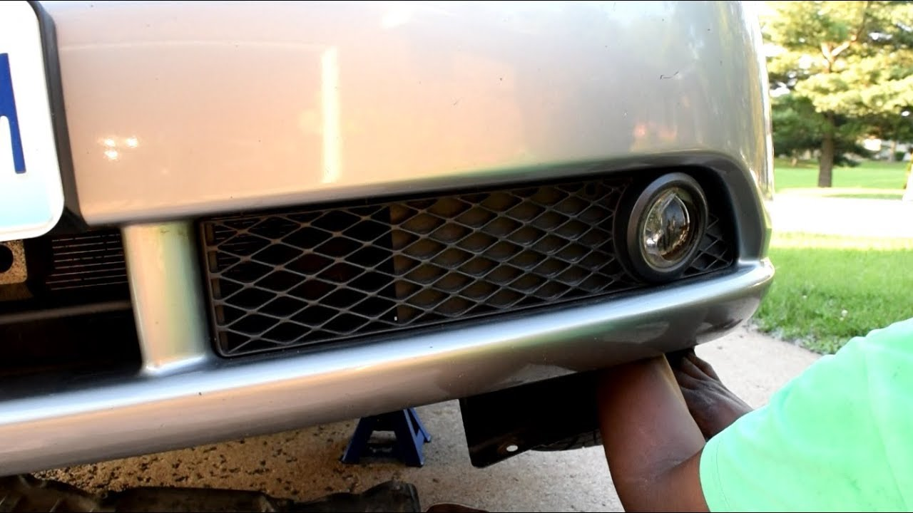 hight resolution of infiniti m45 m35 fog light replacement
