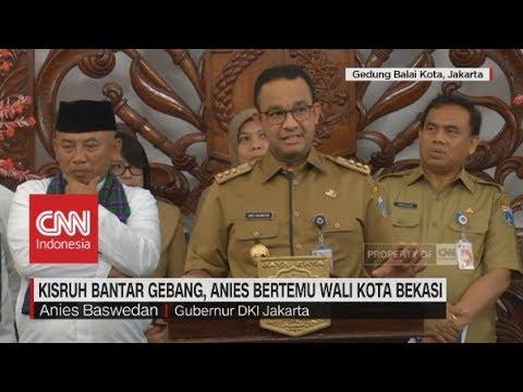 Kisruh Bantar Gebang, Anies Bertemu Wali Kota Bekasi