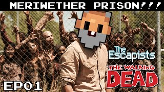 """ZOMBIE PRISON!!!"" - The Escapists THE WALKING DEAD Gameplay S02E01"