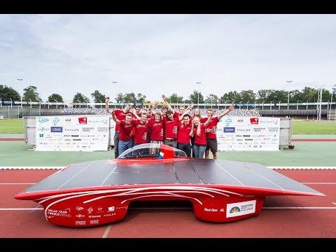 سباق #سيارات تعمل بالطاقة الشمسية والفريق الهولندي نونا 9 يفوز بالمركز الأول  - 13:22-2017 / 10 / 13