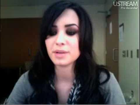 Demi Lovato Live Chat 7/9 Part 1