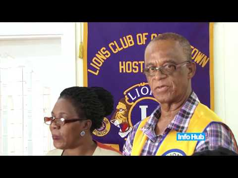 Lions Club Donation to Guyana Post Office Corporation