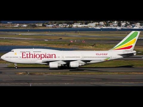 Addis Abeba (HAAB) to Frankfurt Main (EDDF) FSX Ethiopian B747-400
