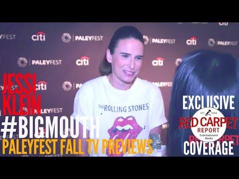 Jessi Klein interviewed at the #BigMouth Netflix series preview at PaleyFest
