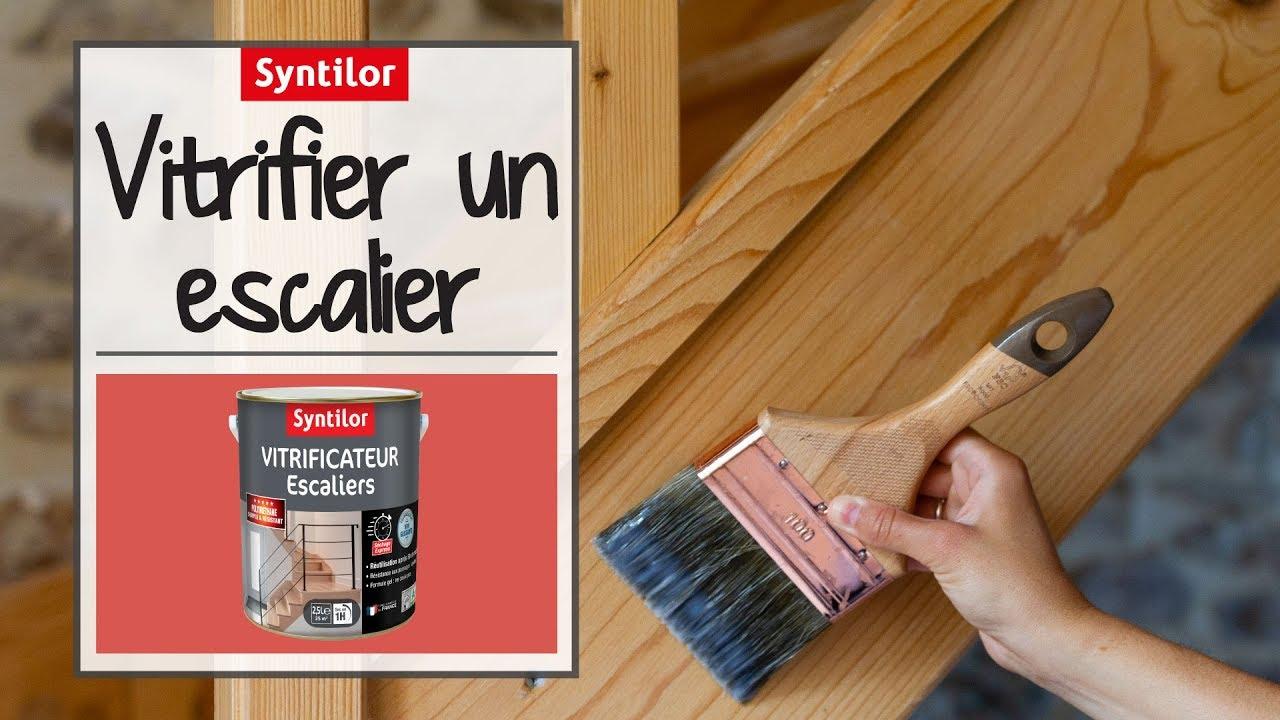 Vitrificateur Escalier Apres Peinture vitrificateur escalier incolore syntilor: protégez votre