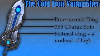 Spiral Knights: Cold Iron Vanquisher Demonstration