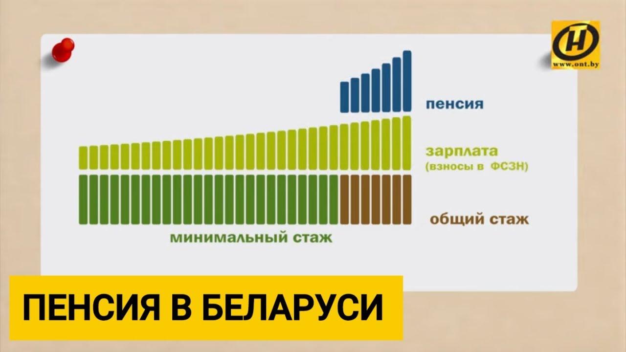 Как рассчитать стаж для пенсии в рб пенсионный фонд личный кабинет талица
