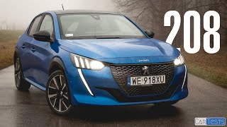 Peugeot 208 2020 1.2 PureTech 130 EAT8 GT Line test PL Pertyn Ględzi