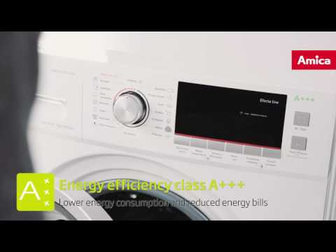 Amica washing machines - Energy efficiency class A+++