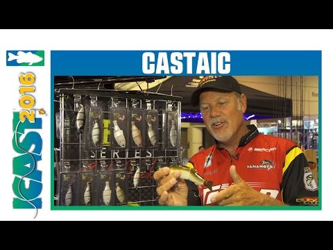 Castaic BD Glide Baits With Elite Series Pro Boyd Duckett | ICAST 2016
