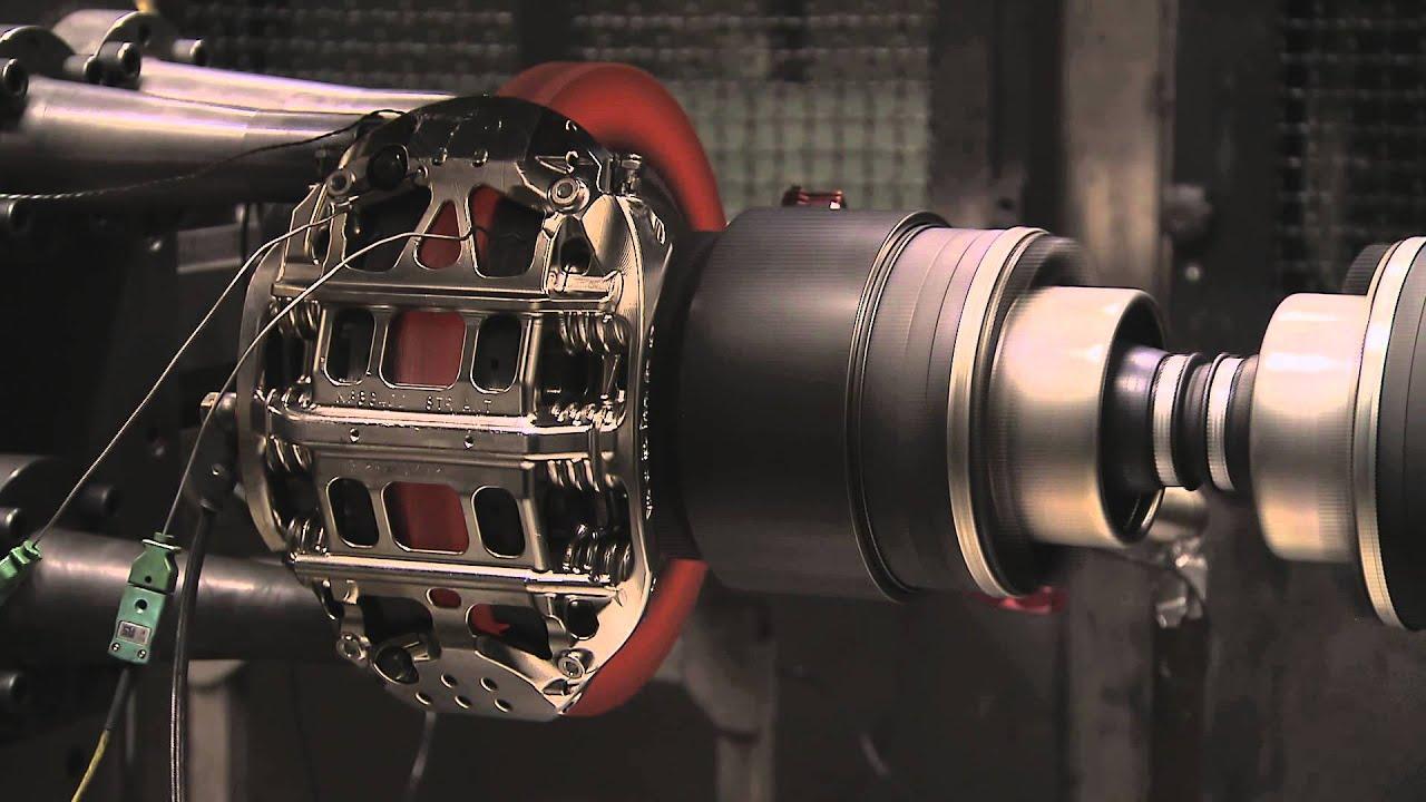 Brembo Brake Pads >> The evolution of brake discs in Formula 1 - YouTube