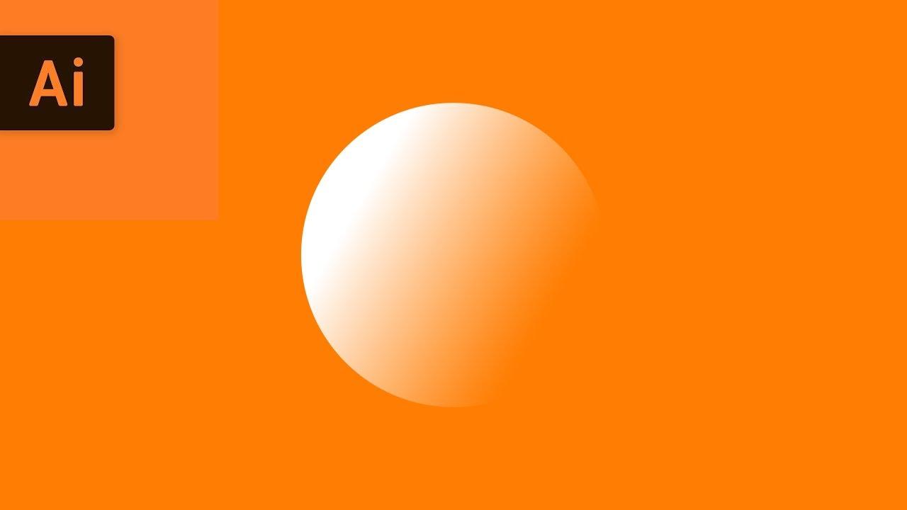 Gradient Fill Transparency Illustrator Tutorial Youtube
