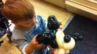 Max and Mickey balloon