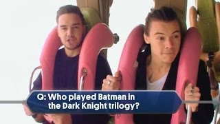 One Direction on Roller Coaster Interview (NBC TV Special) 2014