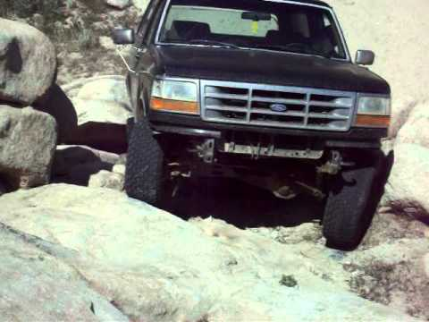 1989 bronco, shift linkage stuck