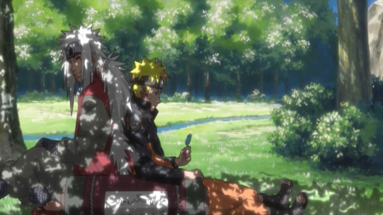 Naruto Shippuden Wallpaper Hd 1080p Jiraiya And Naruto You Could Never Spend His Wealth