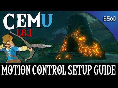 Cemu 1.9.0 | Motion Control Setup Guide