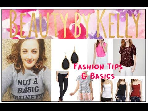 Fashion Tips Basic Neccesities Youtube