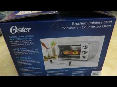 Oster Brushed Stainless Steel Convection Countertop Oven