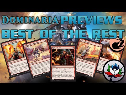 Dominaria Spoilers: Best of the Rest Set Review – Part 4: Red!