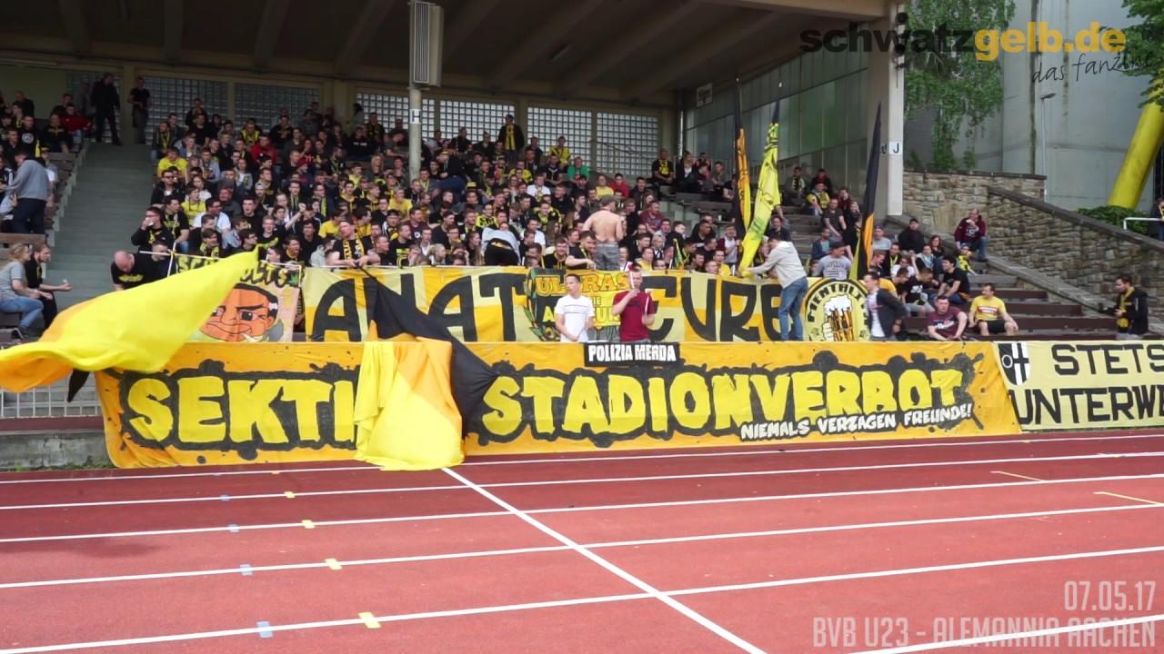 Stimmungsvideo BVBII - Alemannia Aachen 0-0 Stadion Rote Erde 07.05.2017