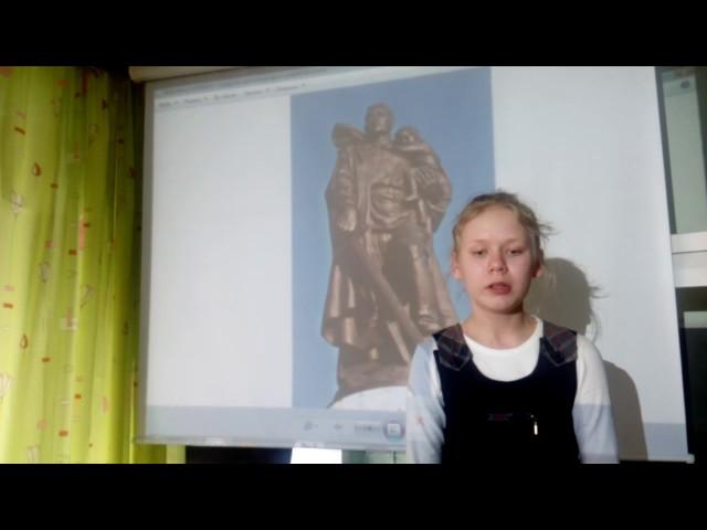 Изображение предпросмотра прочтения – ДарьяЛощиова читает произведение «Памятник» (Рублев Георгий)