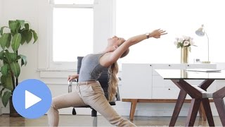 Yoga at Your Desk - FREE 10 Minute Yoga Class