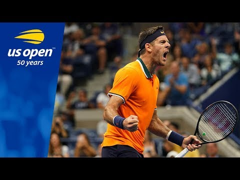 Juan Martin del Potro Holds Court vs. Fernando Verdasco In Arthur Ashe - 2018 US Open