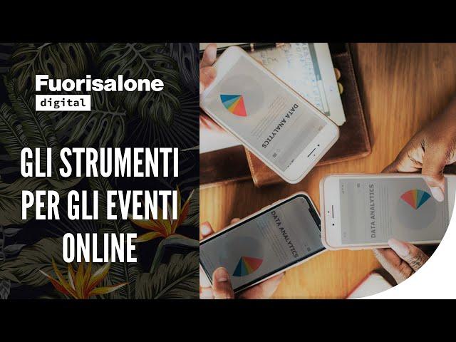 CWS: gli strumenti per gli eventi online