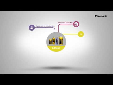 Product Video Panasonic LITHIUM Cylindrical cell batteries