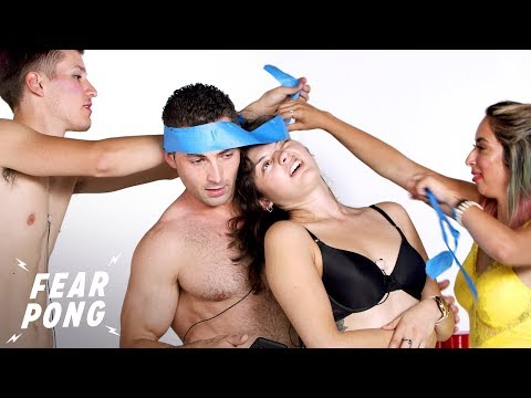 Young Couples Compete for $200 in a Game of Fear Pong | Fear Pong | Cut