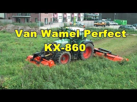 Van Wamel Perfect  KX-860 jäätmaa niiduk